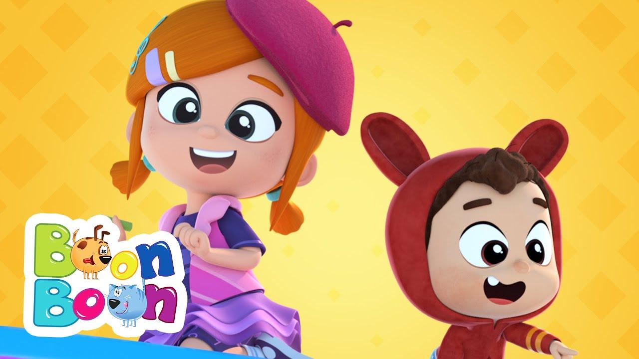 Hai să desenăm împreună! Lea și Pop - Cântece educative | Cântece copii de grădință | BoonBoon