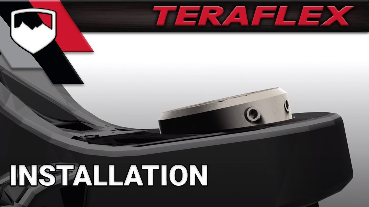 TeraFlex Install: JK HD Replacement Ball Joint