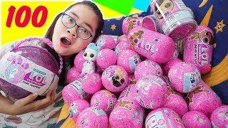 Download Được Bố Tặng 100 Quả Trứng LOL Surprise Phiên Bản Búp Bê & Thú Cưng Biết Nói Mp3 and Videos