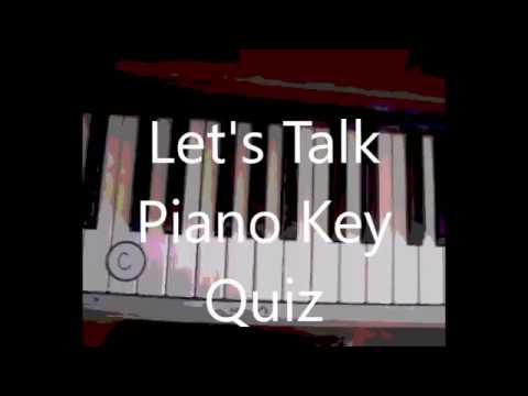 Piano Key Quiz Musical Lesson 8