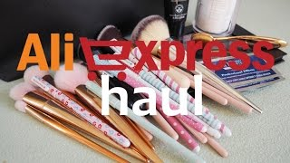 ALIEXPRESS HAUL | kosmetika, papírnictví, doplňky