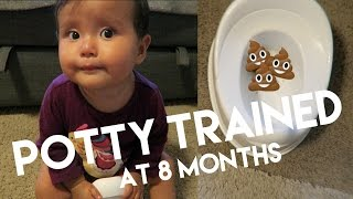 Potty Trained at 8 MONTHS | The Mongolian Family