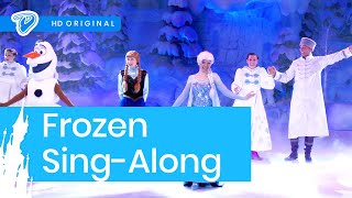 Frozen Sing-along Disneyland Paris FULL SHOW (Chantons La Reine des Neiges)(Disneyland Paris Frozen Sing-along - Chantons La Reine des Neiges — FULL Frozen Sing-a-long stage show for Frozen Summer Fun (Fête Givrée) — VISIT ..., 2015-07-07T17:25:27.000Z)