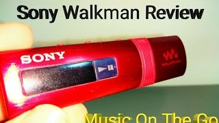 Sony Walkman Review... Music on the go.. Is it worth it?