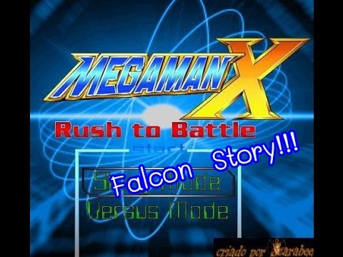 Mega Man X Rush to Battle - Falcon Story