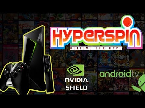 Hyperspin Android on Shield TV pack (old)
