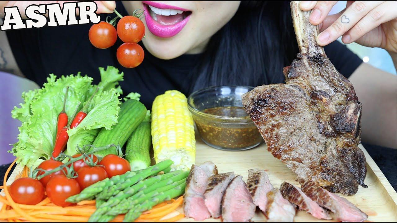 Asmr Tomahawk Steak Fresh Veggies Thai Dipping Sauce Eating Sounds No Talking Sas Asmr Youtube 3,468 likes · 9 talking about this. asmr tomahawk steak fresh veggies thai dipping sauce eating sounds no talking sas asmr