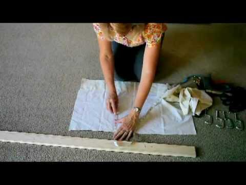 How To Make Your Own Quilt Frame - YouTube : build your own quilt frame - Adamdwight.com
