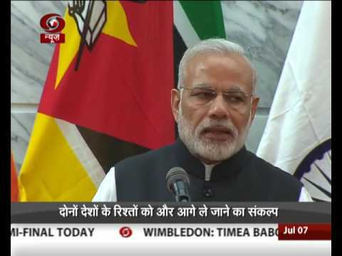 PM's visit to Africa: India-Mozambique sign MoU for export of pulses