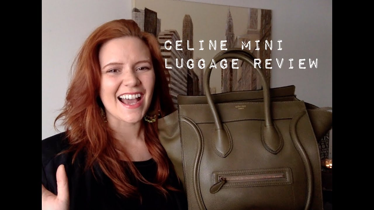 i bought a fake celine luggage tote thinking it was real