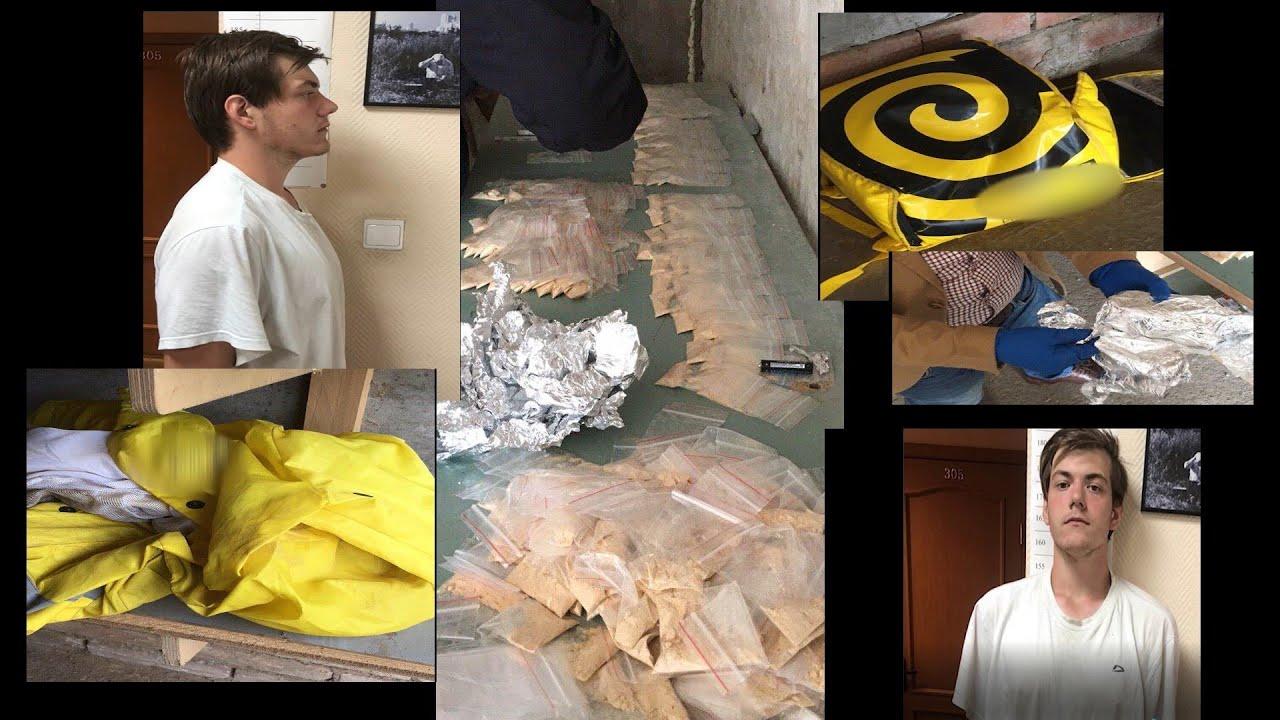 Закладчик работал под прикрытием «Яндекс.Еда». Студент «Военмеха» фасовал «стафф» в гараже Купчино