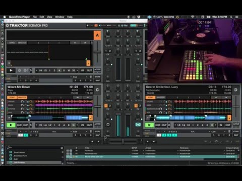 Traktor 2.10.1.60 Stems Set Controlled By APC 40
