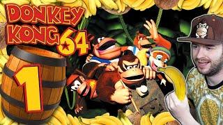 DONKEY KONG 64 🍌 #1: Die Affenbande ist los!