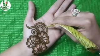 New Year mehndi design for front hand @ummi