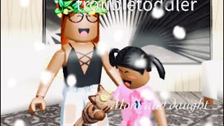 Mom and daughter day routine | roblox bloxburg