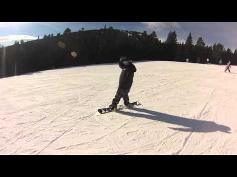 Snowboarding Red Lodge, Mt