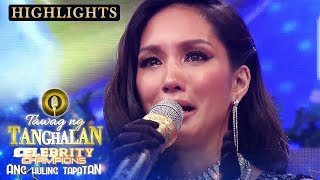 Roxanne sends an emotional message to her late father | Tawag ng Tanghalan
