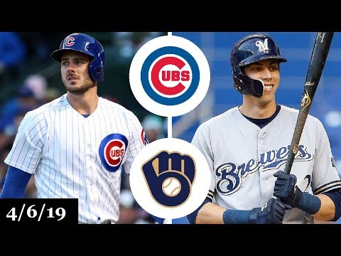 Chicago Cubs vs Milwaukee Brewers Highlights | April 6, 2019