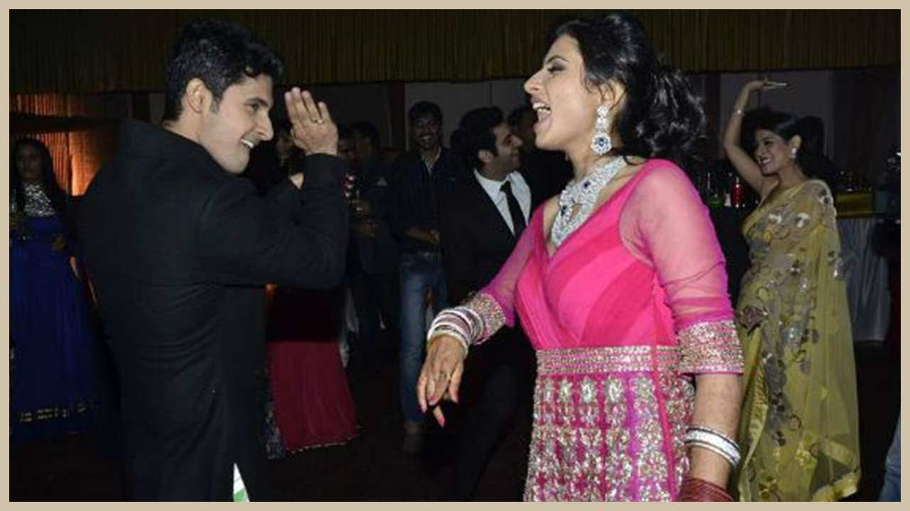 Ravi And Sargun S Dance Performance At Their Wedding Reception Exclusive You