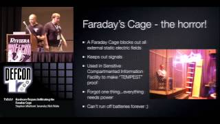 Def Con 17- Janansky And Waite - Hardware Trojans Infiltrating The Faraday Cage