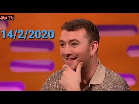 Sam Smith Perform 'To Die For' LIVE BBC Graham Norton Show 14 February 2020
