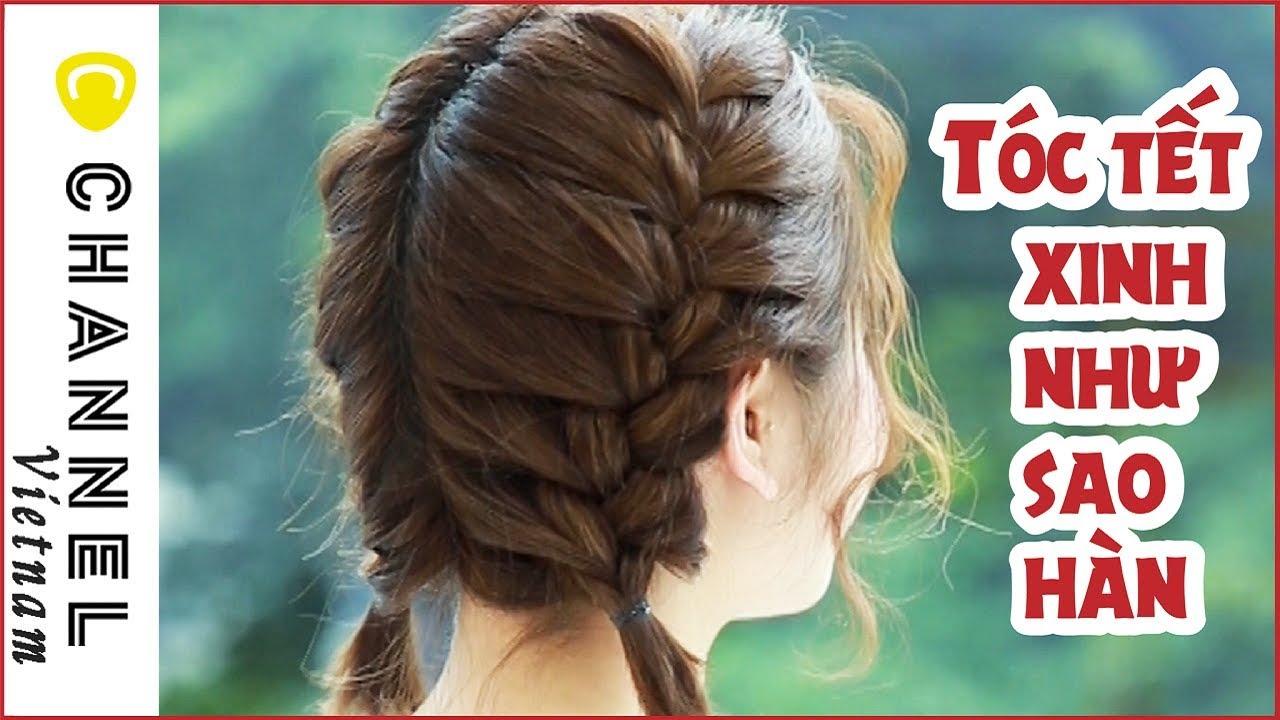 Tết tóc xinh hai bên như SAO HÀN