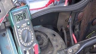 Contrôle du circuit de charge batterie & alternateur - Diagnostic panne auto