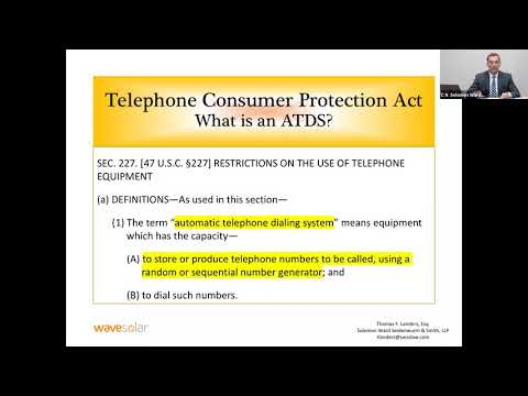 Developments in the TCPA - Facts Solar Installers Need To