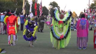2016 Cherokee National Holiday Pow Wow - Grand Entry