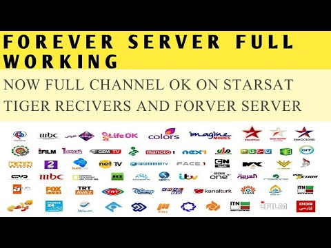 All channels working on forever Server /urdu