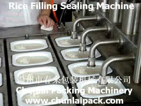 BG Self Heating Rice Filling Sealing Machine