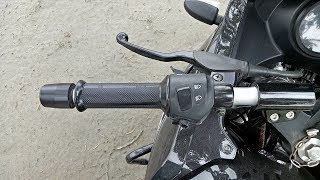 How to control clutch and accelerator in motorcycle