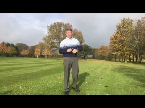 Easiest swing in golf, simple warm up exercises for Seniors