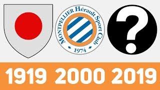 ⚽ Эволюция Логотипа Футбольного Клуба Монпелье | Все логотипы Монпелье ⚽