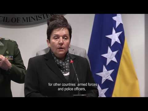Media statement of Minister of Defense of Bosnia and Herzegovina