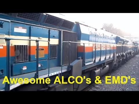 Best of Indian Railways Diesel Locomotives Compilation : WDG4 WDP4 WDG3 WDM3 WDM2 WDM7 YDM3
