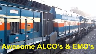Best of Indian Railways Diesel Locomotives Compilation : WDG4 WDP4 WDG3 WDM3 WDM2 WDM7 YDM3