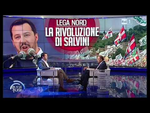 Intervista a Matteo Salvini a Porta a Porta