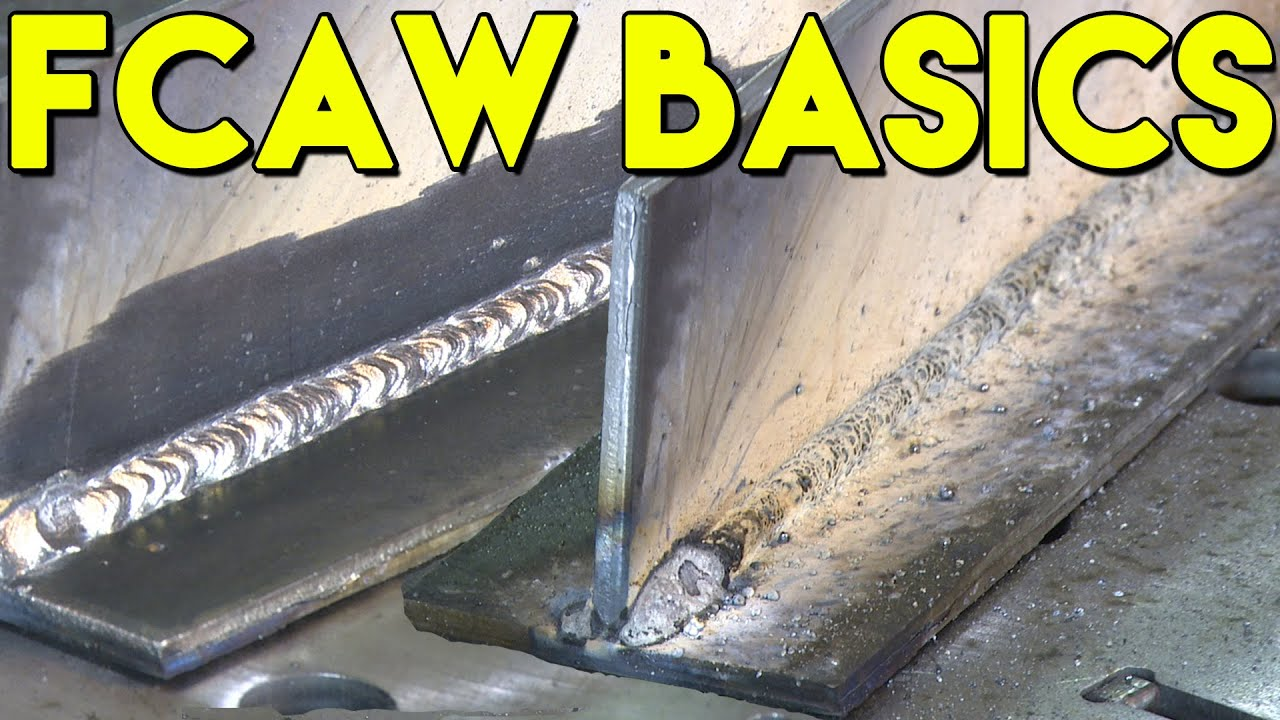 🔥 Learn How to Flux Core Weld: FCAW Basics | MIG Monday - YouTube