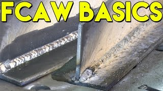 Learn How to Flux Core Weld: FCAW Basics | MIG Monday