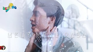 Devano Danendra Menyimpan Rasa Official Lyrics video