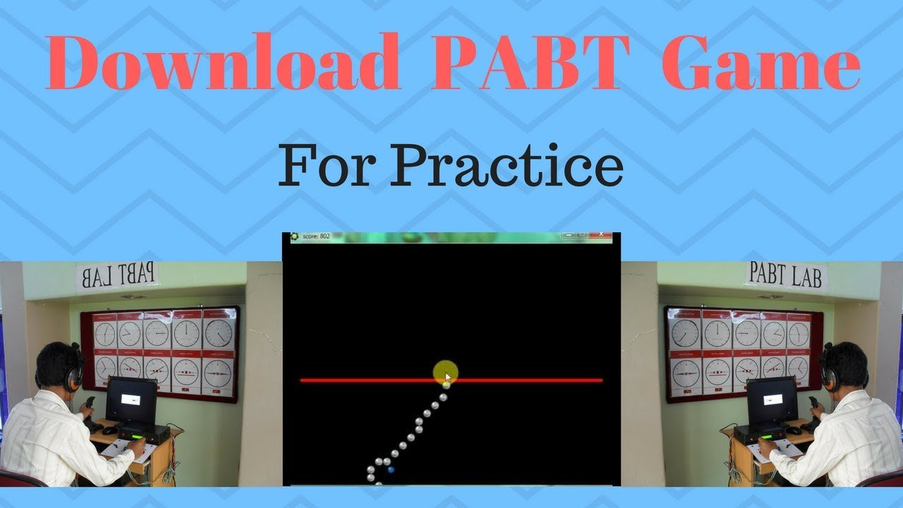 How To Download Pabt Game Pilot Aptitude Battery Test