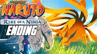 Naruto: Rise of a Ninja - Walkthrough ENDING, Gameplay Xbox 360
