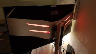 AOC AGON AG352QCX 88,9 cm 35 Zoll Gaming Monitor 200Hz fps UNBOXING + TEST   MEGA SCREEN!!!