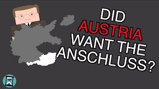 Did Austria want the Anschluss? (Short Animated Documentary)
