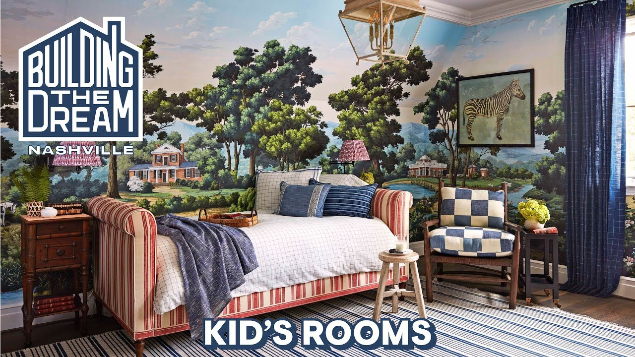 Amy Berry Designs Two Precious Kids Rooms Building The Dream Nashville House Beautiful