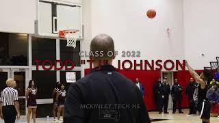 "Todd ""TJ"" Johnson Class of 2022 McKinley Tech HS"