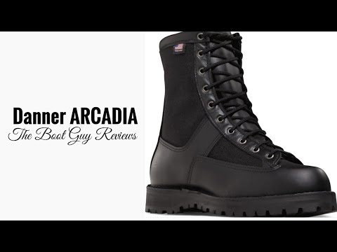 """DANNER ACADIA 8"""" BLACK STYLE NO. 21210 [ The Boot Guy Review ]"""