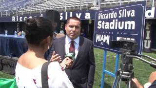 Riccardo Silva Stadium Press Conference