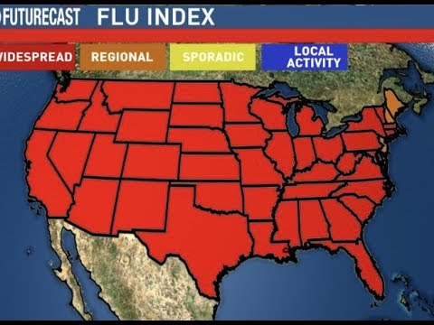 """Breaking : """"OUTBREAK"""" America Is Sick With The Flu"""" Remember 1918 (50 Million Died)"""